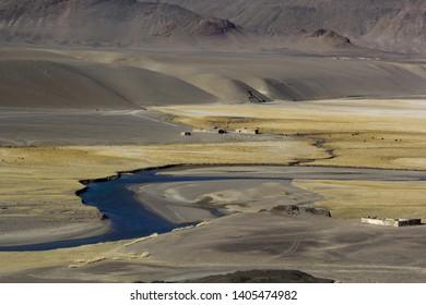 Nature of the Pamir tract (Tajikistan)
