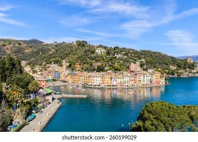 Nature of Portofino, Italy