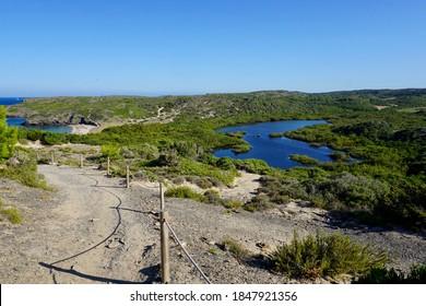 "Nature reserve ""S'Albufera des Grau"" in Menorca"