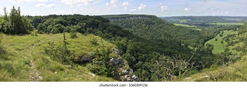 Nature reserve, Ravine de Valbois, Doubs, Bourgogne-Franche-Comte, France