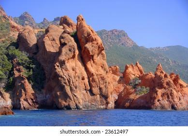 The Nature Reserve of Scandola, Corsica, France