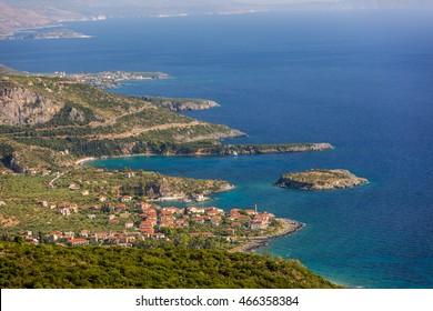 Nature scenario in Kalamata region, southern Greece