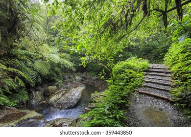 Nature scenic of Linmei Shihpan Trail, Ilan, Taiwan