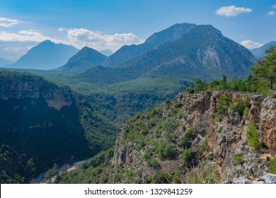 Nature Shot with Mountains