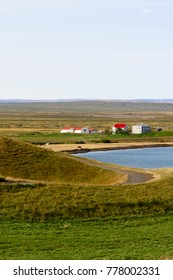 Nature of Skutustadagigar,  area famous by geologiacal features and views in Iceland