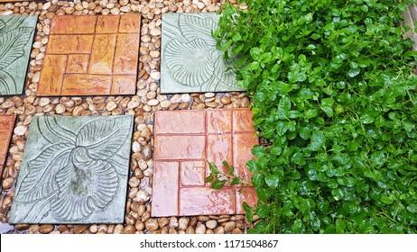 nature stone floor