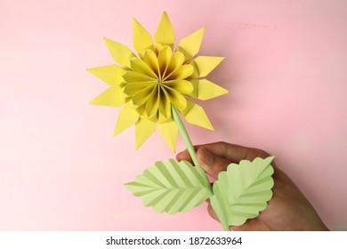Nature Sun Flowers Origami Paper Craft