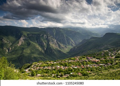 nature in Tatev area in remote Armenia