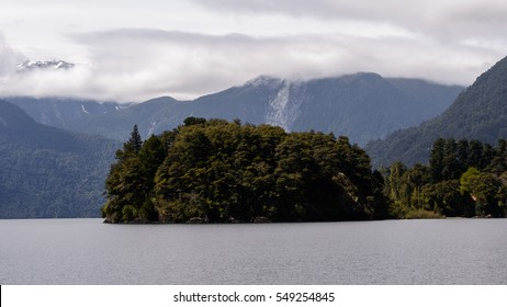 Nature of the Vicente Perez Rosales National Park, Chile