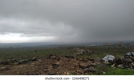 Nature view and mother nature landscape, Golan Heighlands