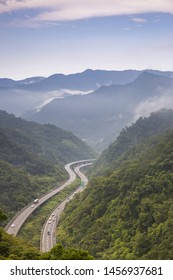 Nature view of  NO.5 highway,Taiwan