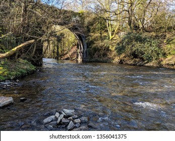 Nature walks along rivers and streams - welsh countryside
