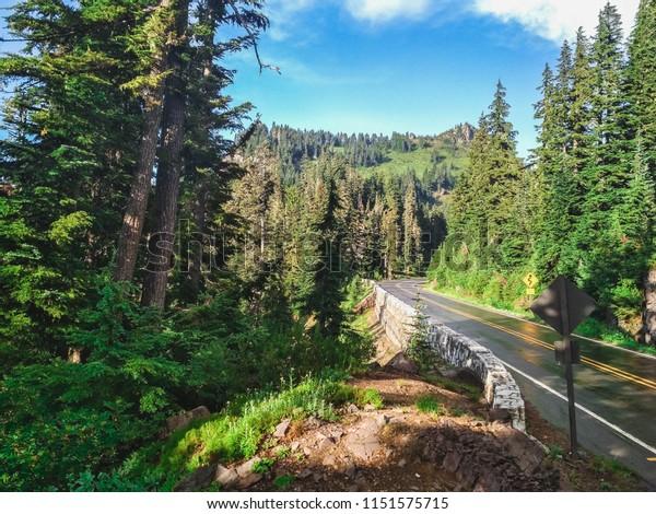 Nature of Washington State USA. Okanogan-Wenatchee National Forest.