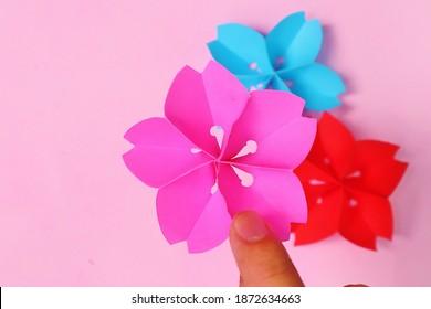 NatureSakura Flowers Japan Origami Paper Craft