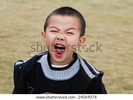 Funny facial shots