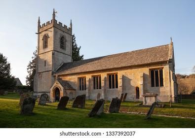 Naunton Church, Cotswolds, Gloucestershire, England