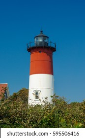 Nauset Light Lighthouse in Eastham, Cape Cod, Maine, New England, USA