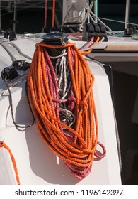 nautical rope rolled up