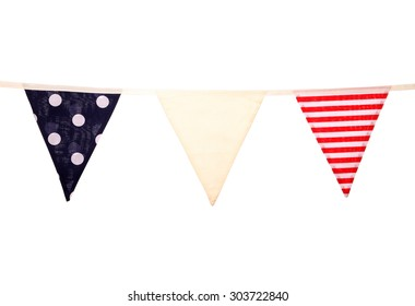 nautical wedding bunting studio cutout
