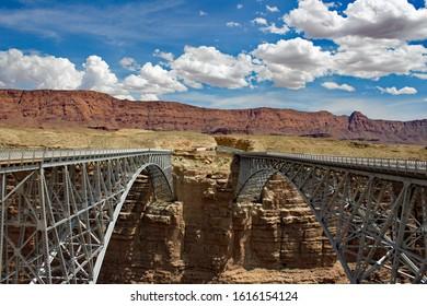 Navajo Bridge - Colorado River - Arizona USA