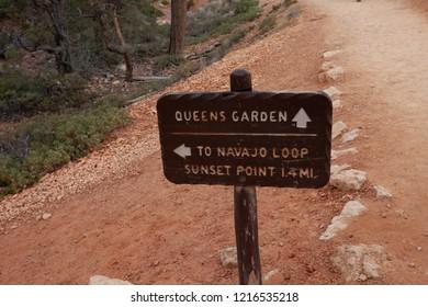 Navajo Loop Trail at Bryce Canyon National Park Utah