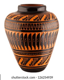 Navajo Native American Clay Pottery Decorative Vase