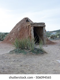Navajo sweat lodge to clean the mind of evil  and spirits