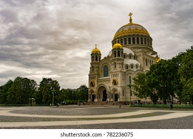 Naval Cathedral of Saint Nicholas, Kronshtadt, Russia