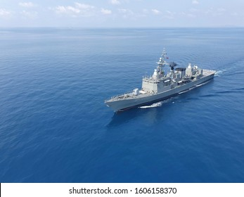 Naval Forces at Iran. Military control of the sea. Protection of state borders from water at Iran.