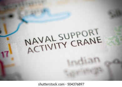 Naval Support Activity Crane. Indiana. USA