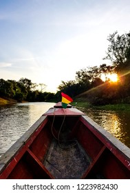 Navigation at the entrance of the Bolivian Amazonia