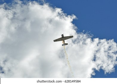 NAVY Airplane in a Sunny Summer's Sky - Minnesota