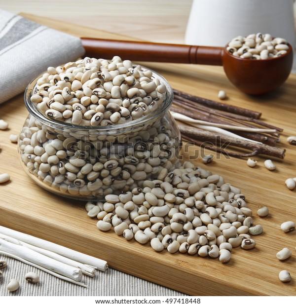 Navy Bean White Kidney Bean White Stock Photo Edit Now 497418448
