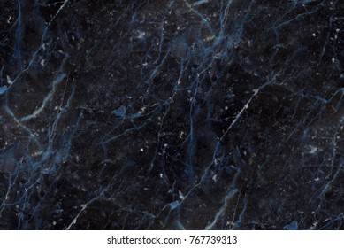 navy blue marble - seamless texture