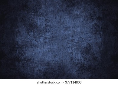navy blue scratched metal texture or rough pattern iron background