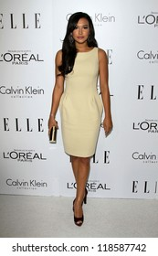 Naya Rivera at the Elle Magazine 17th Annual Women in Hollywood, Four Seasons, Los Angeles, CA 10-15-12