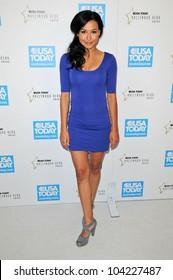 Naya Rivera at the USA Today Hollywood Hero Gala honoring Ashley Judd,  Montage Hotel, Beverly Hills, CA.  11-10-09
