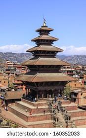 Nayatapola temple,Nepal