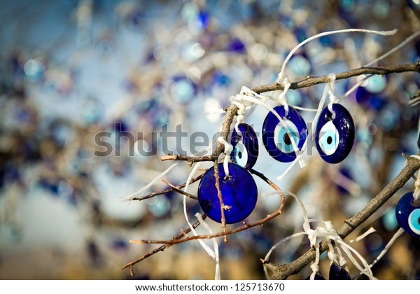 Nazar - eye-shaped amulet to protect against the evil eye