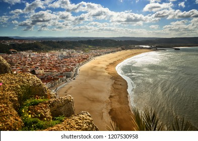 Nazare is one of the most popular seaside resorts in Portugal, considered by some to be among the best beaches in Portugal. The neighbourhoods are linked by a funicular railway.