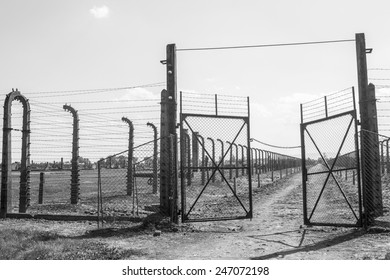 Nazi concentration camp Auschwitz, Poland
