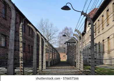 The Nazi concentration camp of Auschwitz in Poland. UNESCO World Heritage