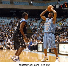 NBA star Jerry Stackhouse of the Mavericks playing in a charity basketball game