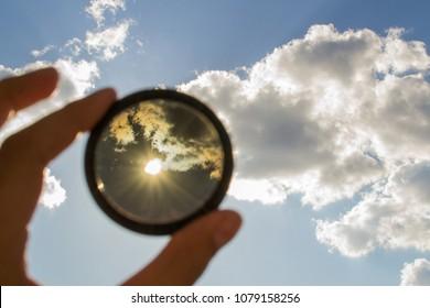 Nd filter lens