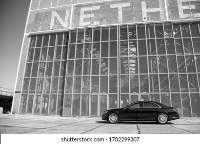 NDSM-werf Amsterdam-Nord Netherlands, mercedes s-class