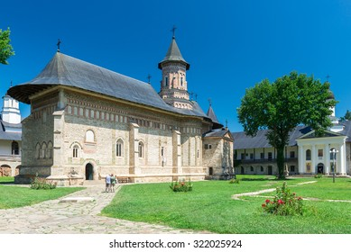 The Neamt Monastery an example of the Moldavian architectonic style was built in the 15th century during Stephen the Great