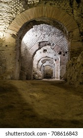 Neapolis underground. archaeological excavations of San Lorenzo Maggiore, Napoli, Italy