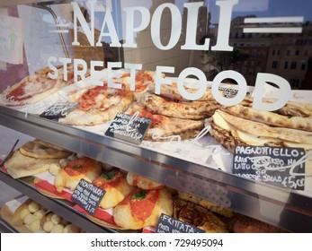 Neapolitan Street food stand