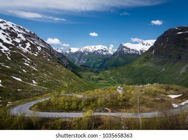 Near Geiranger in Norway