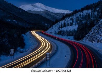 Near Georgetown, Colorado.  Near the Eisenhower Tunnel.